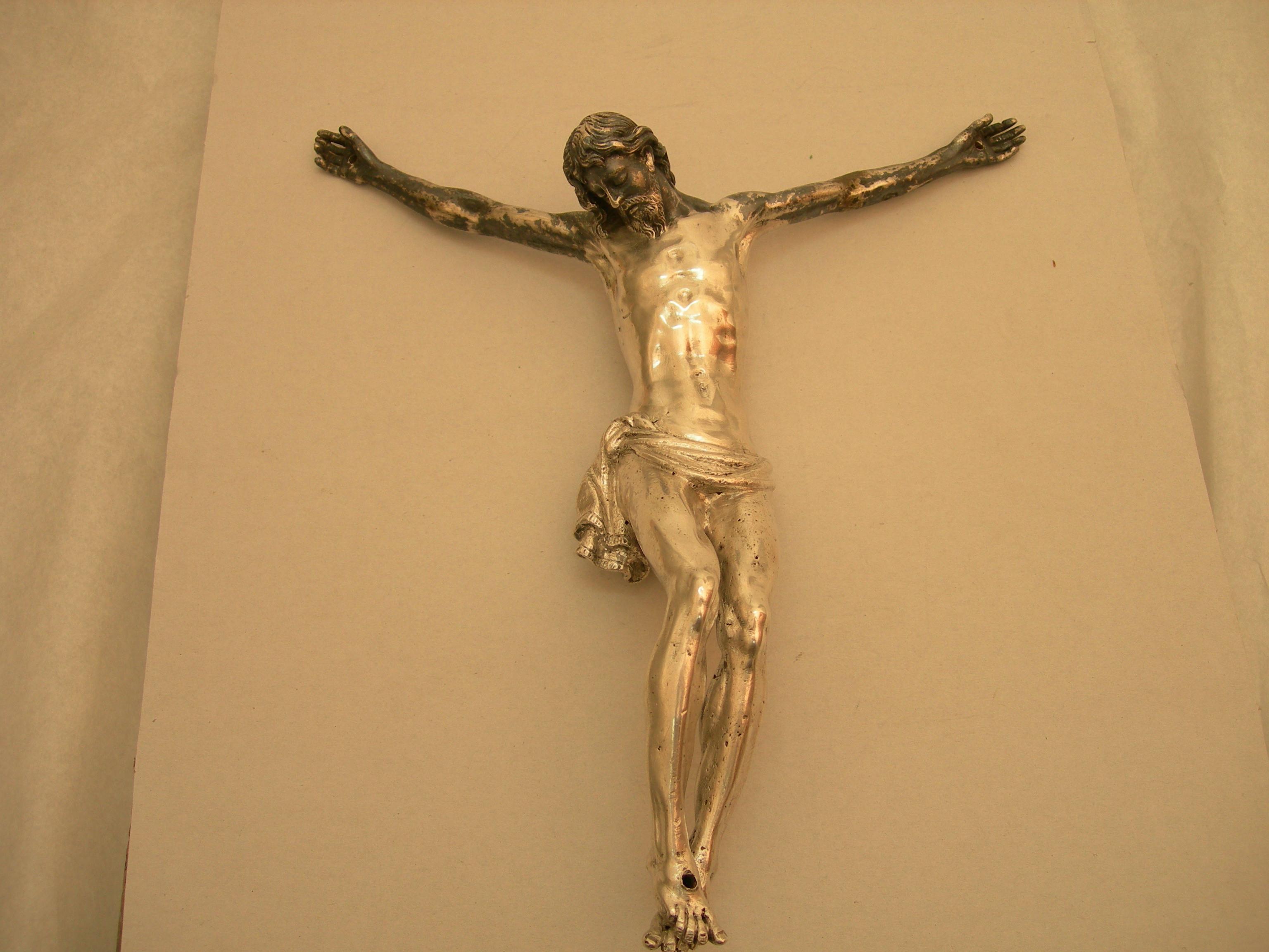 Crocifisso d'argento