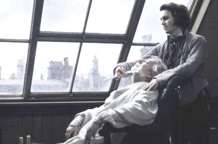 Dal film: Sweeney Todd - Il diabolico barbiere di Fleet Street