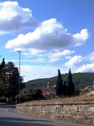Panorama da Via di Castagneto