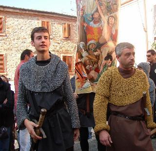 Figuranti del corteo storico - Balestrieri